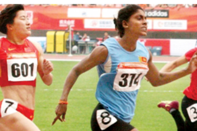 Rumeshika, Chandrika in finals