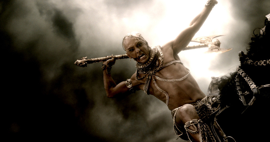 Film fascination with one dimensional antiquity continues in 300 sequel