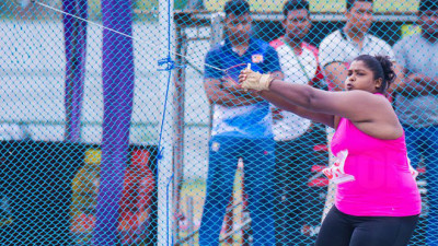New Sri Lanka Record for Hammer Throwing Event in the 43rd National Sports Meet