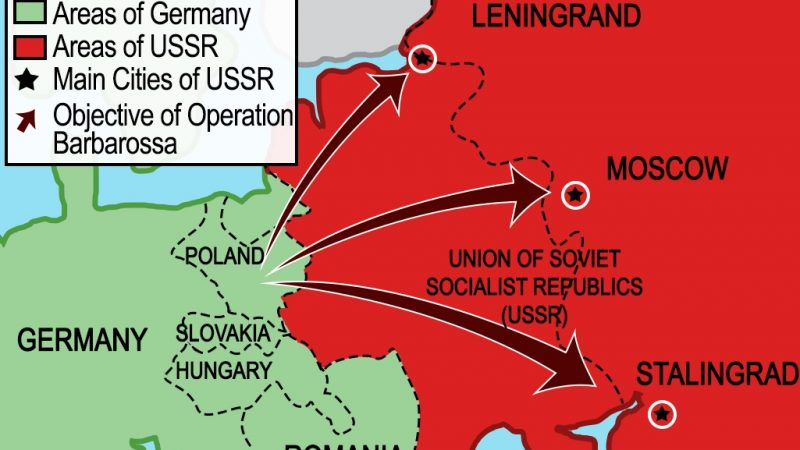 'Operation Barbarossa' – The Nazi Invasion of Soviet Union